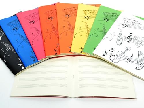 Caderno A5 pautado