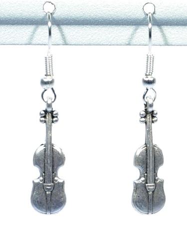 Brincos Violino - Zamak
