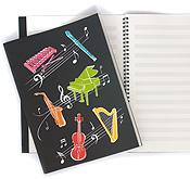 Caderno de Música A4