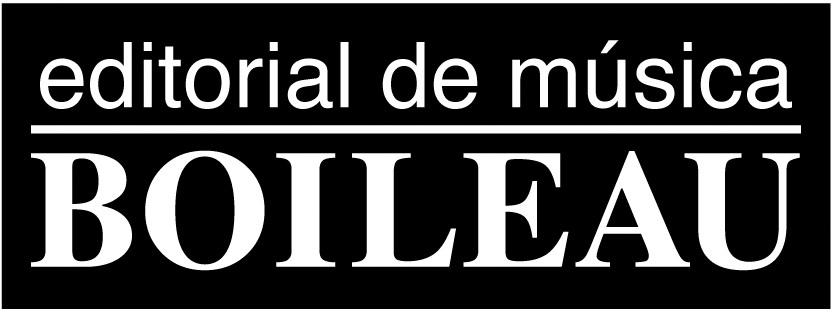 Boileau - Editorial de Música