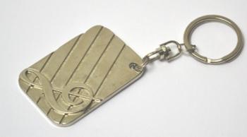 Porta-Chaves Metal Clave de Sol